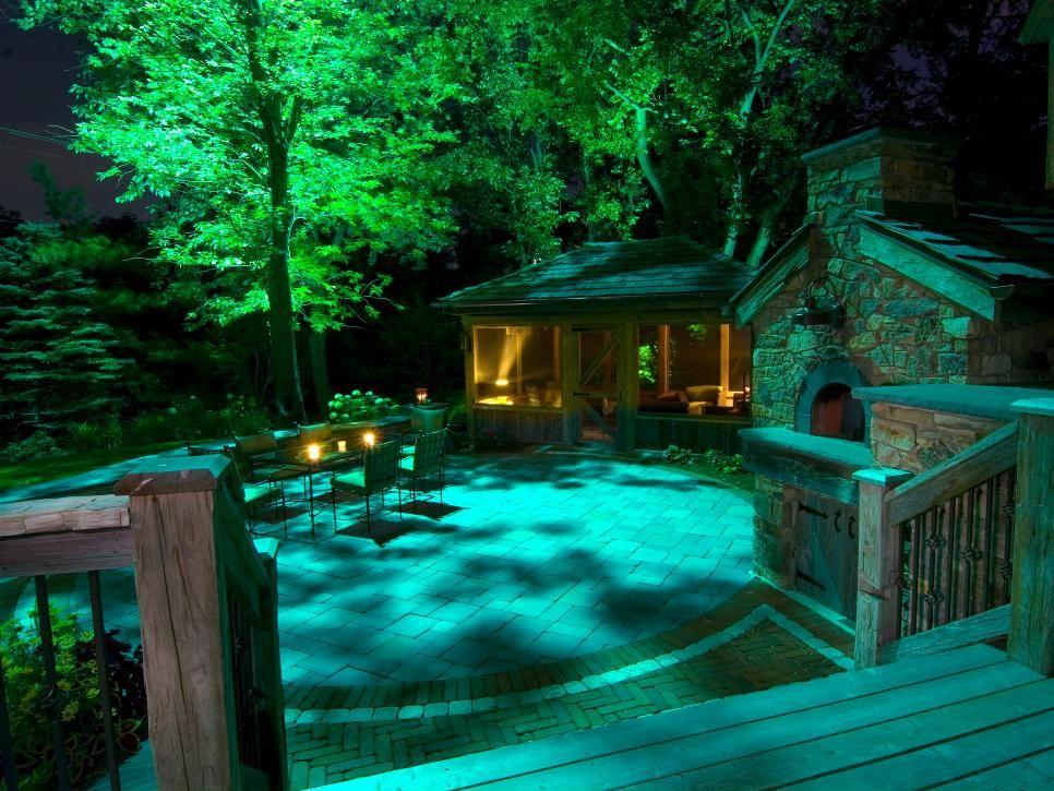 verlichten van bomen,buitenverlichting huren