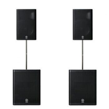 Verhuur actieve luidsprekers